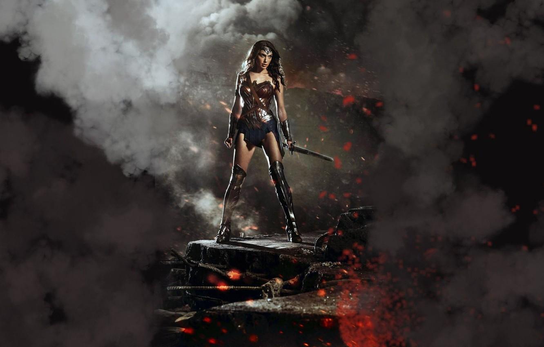 Wallpaper Wonder Woman Dc Comics Gal Gadot Diana Prince Batman