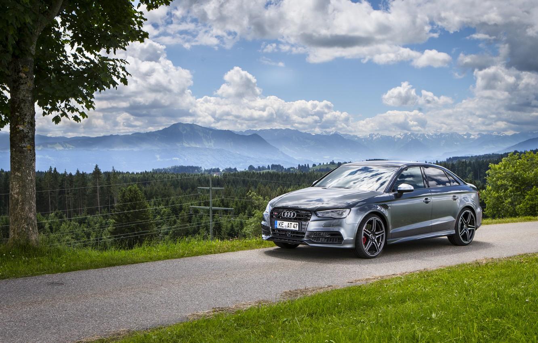 Photo wallpaper Audi, Audi, Sedan, ABBOT, 2014