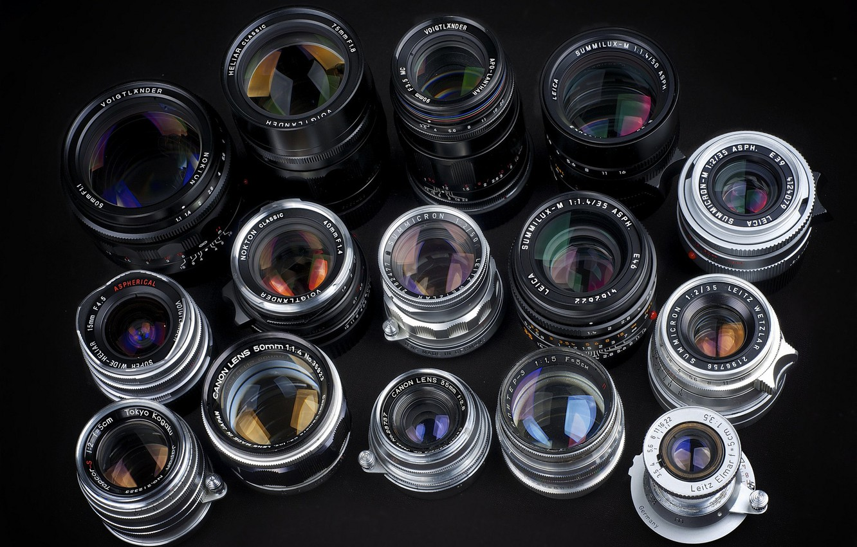 Photo wallpaper technique, lenses, photo lenses, lenses