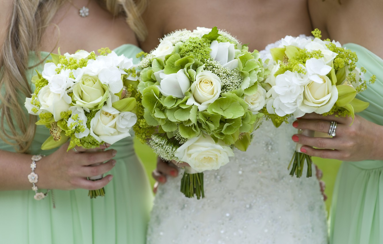 Photo wallpaper flowers, girls, girls, friend, flowers, friends, bouquets, bouquets