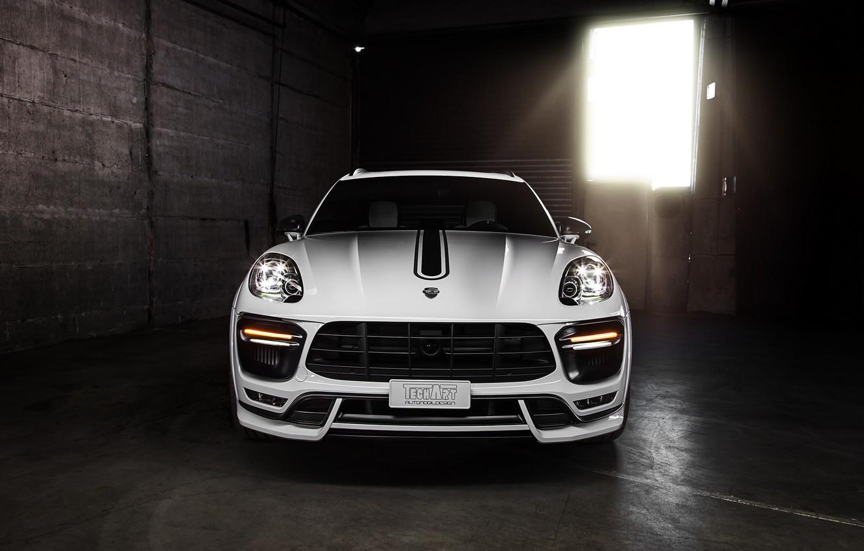Photo wallpaper Porsche, Porsche, 2014, TechArt, Macan, makan, 95B