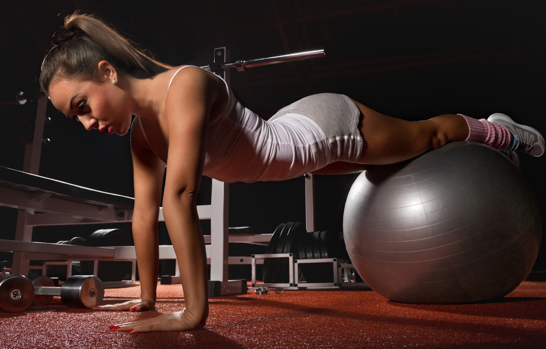 Photo wallpaper ball, fitness, pilates