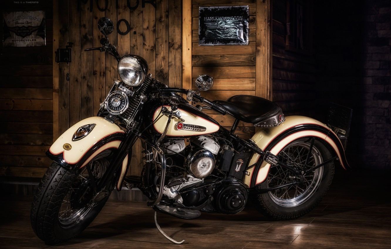 Photo wallpaper motorcycle, Harley Davidson, chopper, bike, motorcycles, Harley Davidson.