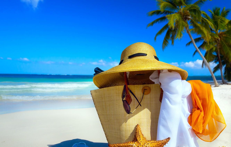 Photo wallpaper sand, sea, beach, the sky, the sun, tropics, the ocean, shore, summer, sunshine, beach, sky, …