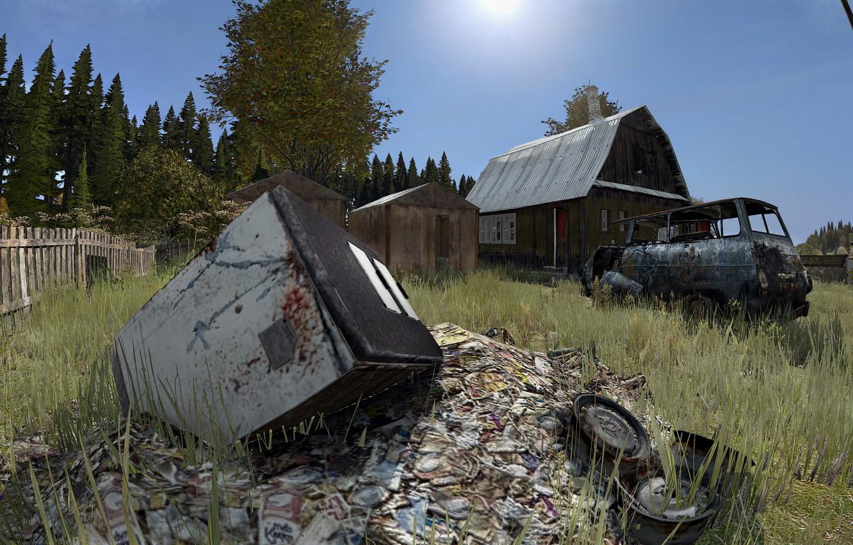 Wallpaper Landscape Nature House Dayz Dayz Standalone