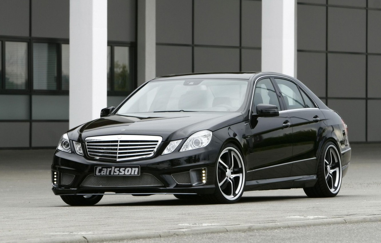 Photo wallpaper MERCEDES, BENZ, CARLSSON