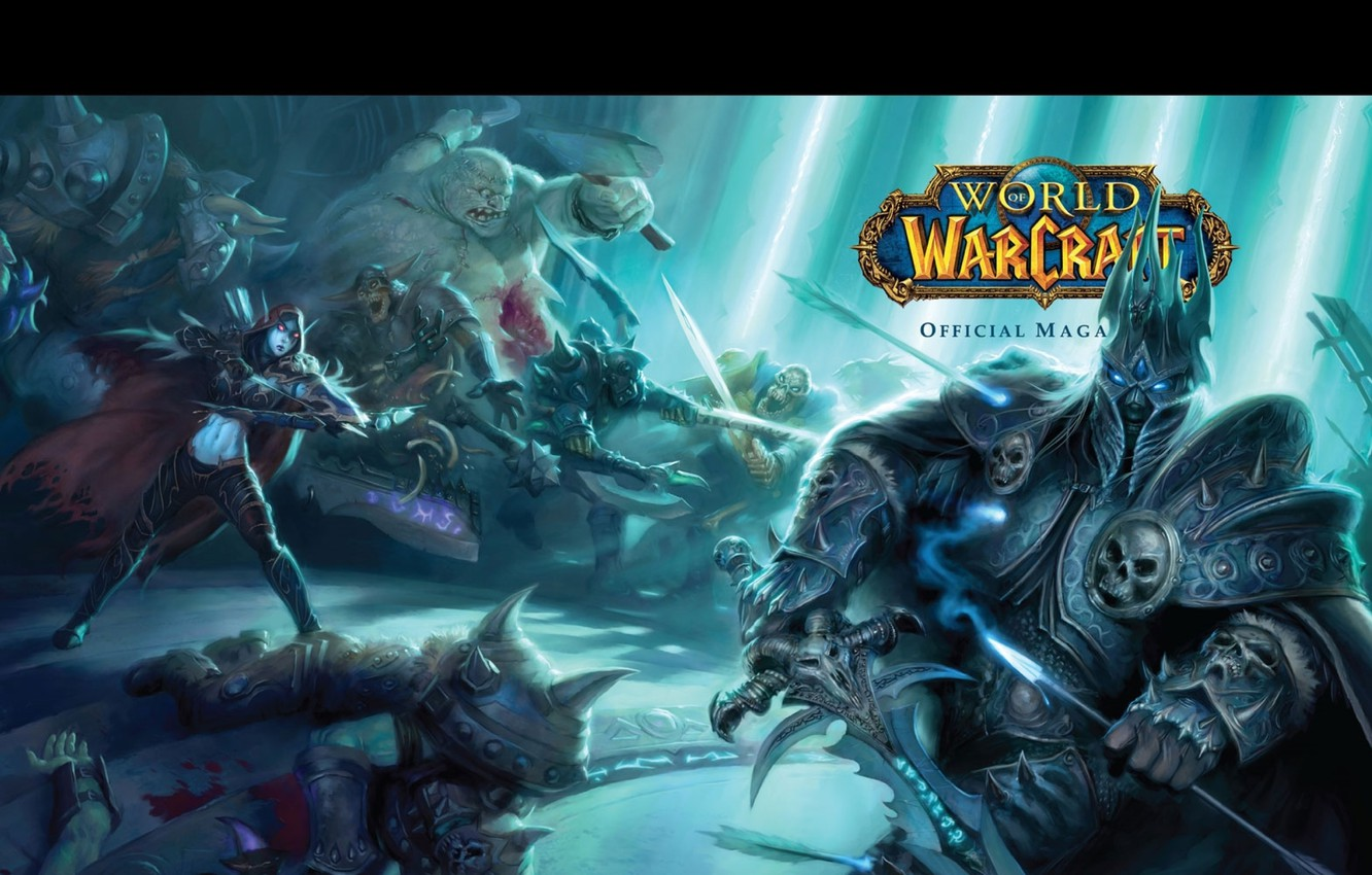 Wallpaper Wow Undead World Of Warcraft Arthas Silvana