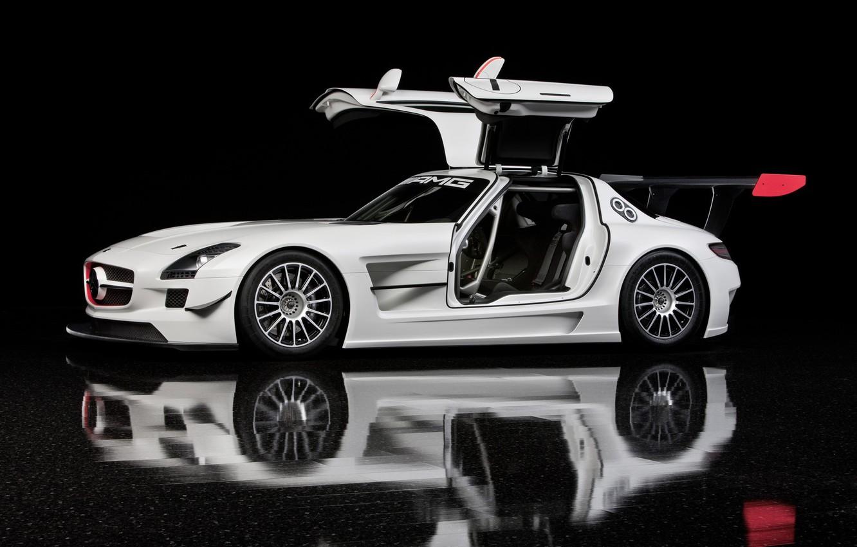 Photo wallpaper door, Mercedes, AMG