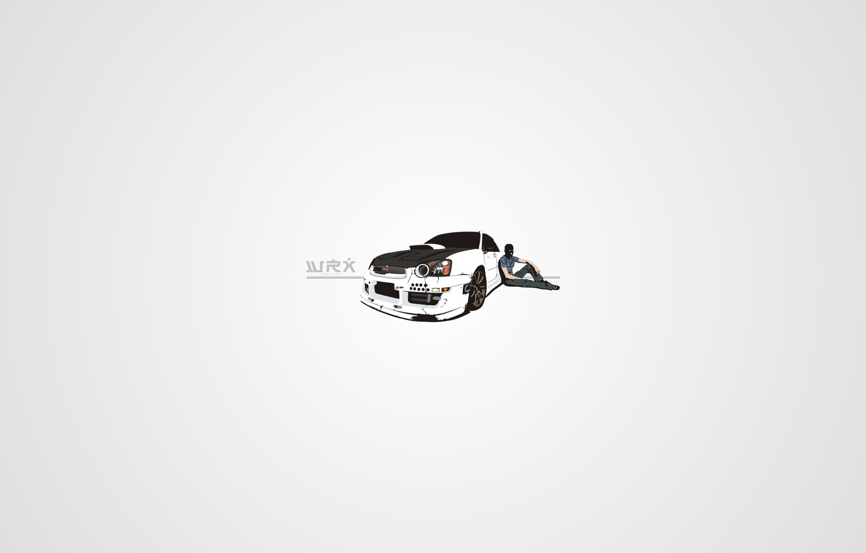 Photo wallpaper white, Subaru, WRX, Drift, Carbon, mafia
