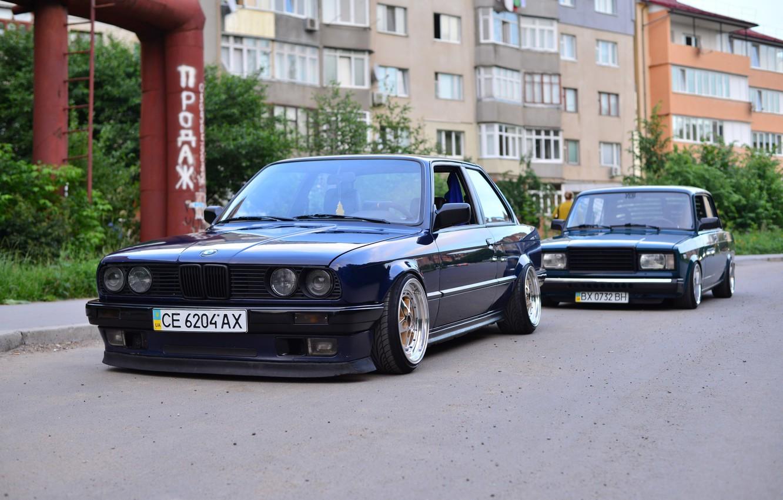 Photo wallpaper BMW, coupe, E30, 2107