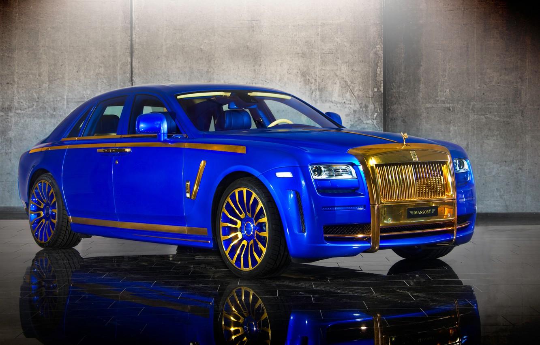 Photo wallpaper Rolls-Royce, Ghost, Mansory, rolls-Royce