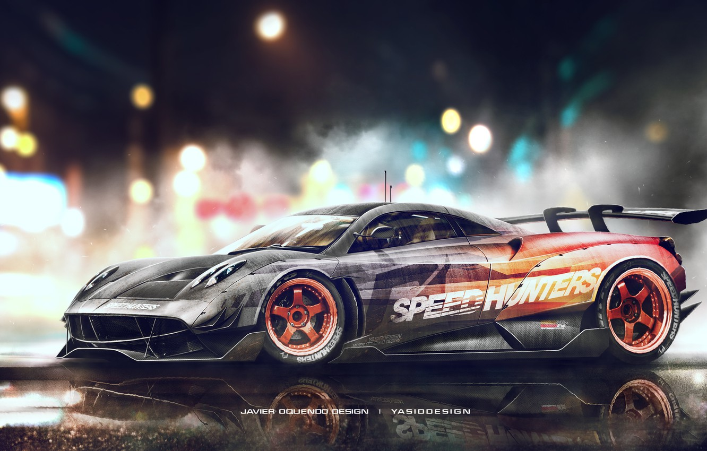 Photo wallpaper Pagani, Need for Speed, To huayr, Speedhunters, Yasid Design