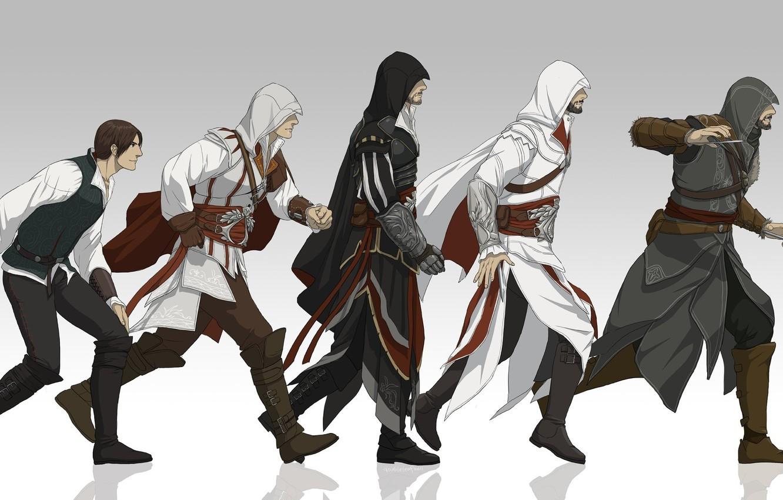 Photo wallpaper Ezio, ezio, Assassin's Creed
