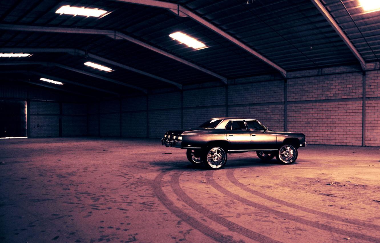 Photo wallpaper Cadillac, cars, car, hangar, cars, wheel, Cadillac, auto wallpapers, car Wallpaper, auto photo