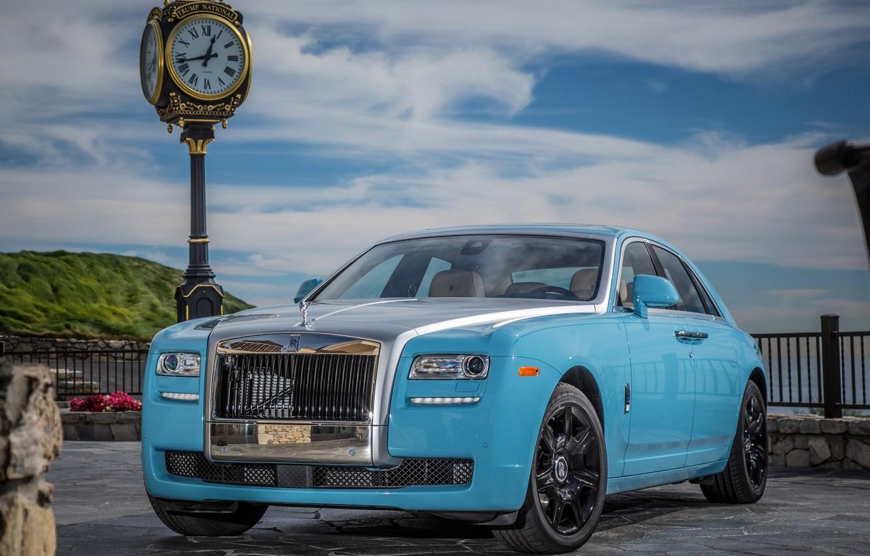 """Photo wallpaper Ghost, Rolls, -Royce, Trial Centenary, """"Alpine"""