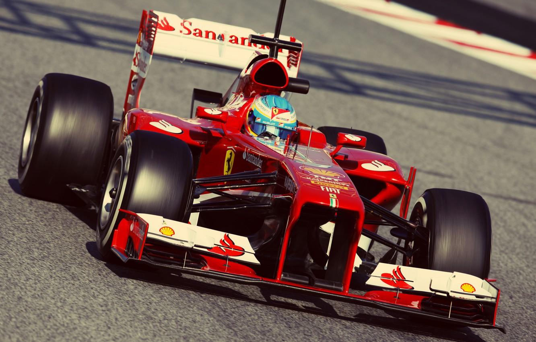 Photo wallpaper formula 1, ferrari, Ferrari, formula 1, alonso, Alonso, Fernando