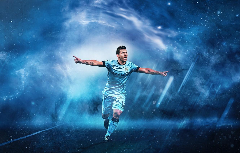 Wallpaper Wallpaper Sport Football Player Sergio Aguero Manchester City Images For Desktop Section Sport Download