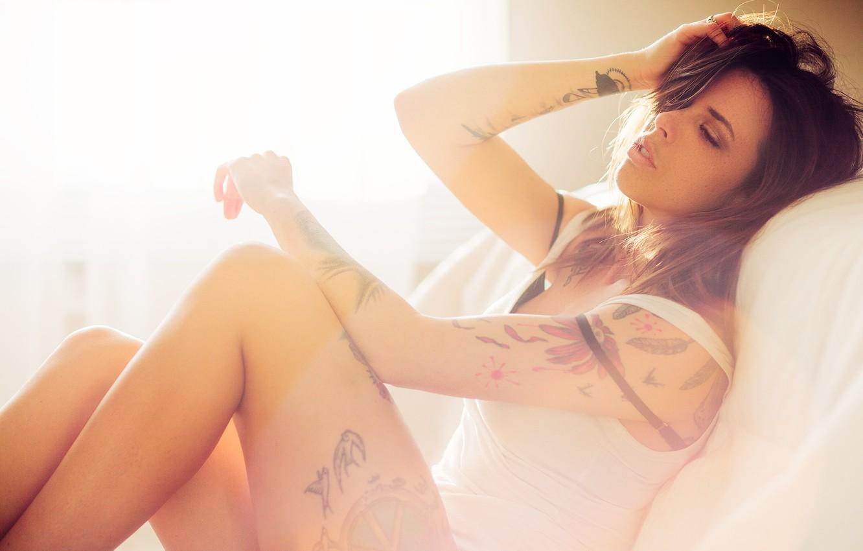 Photo wallpaper Light, Sexy, Model, Fashion, Portrait, Natural, Lifestyle