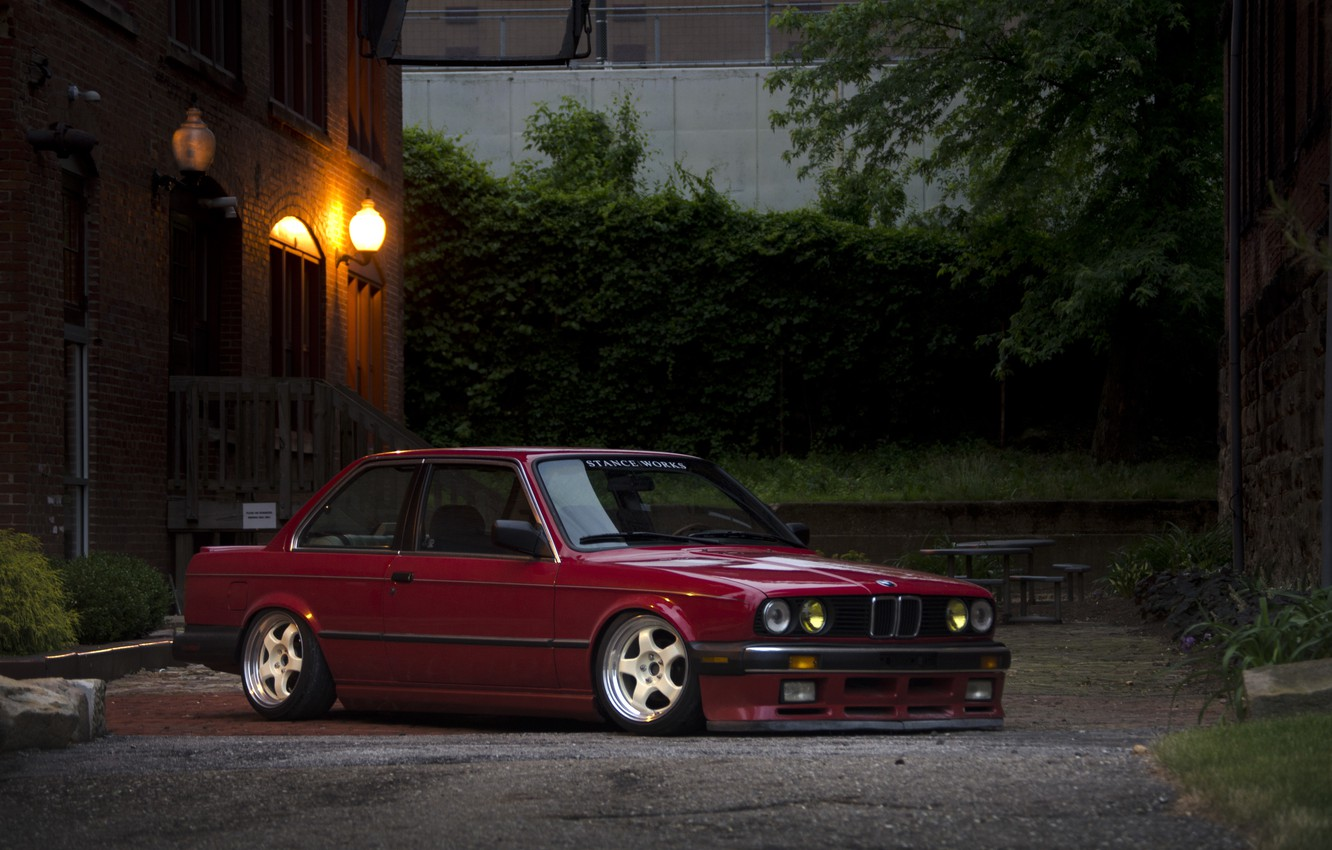 Photo wallpaper tuning, bmw, drives, classic, stance
