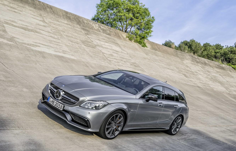 Photo wallpaper Mercedes-Benz, AMG, CLS63, 2015