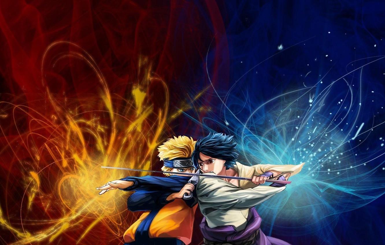 Photo wallpaper Sasuke, Sasuke, ninja, Shippuden, Chidori, nine-tailed, Shippuuden, Naruto, Naruto