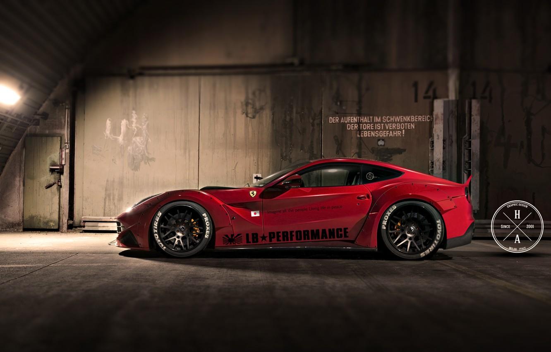 Photo wallpaper tuning, LB Performance, The Ferrari F12