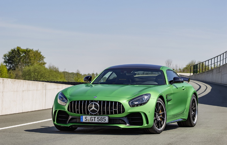 Photo wallpaper Mercedes, Benz, GT-R