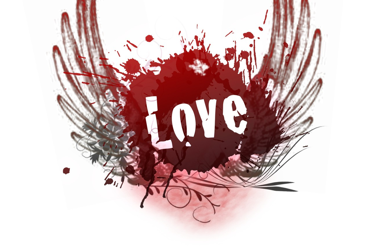 Photo wallpaper love, happiness, passion