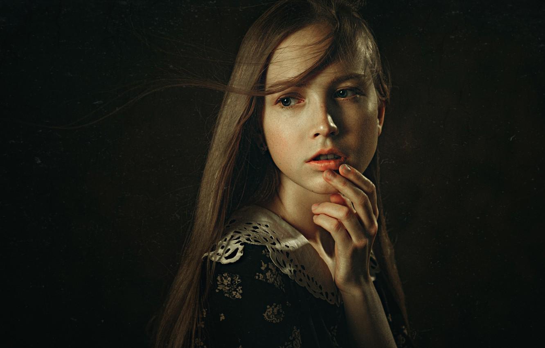 Photo wallpaper retro, portrait, filter, George Chernyadev, Aleksandra, Alexander Kharlamov