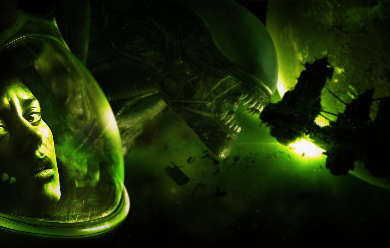 Wallpaper Space Game Honnoror Alien Isolation Images For