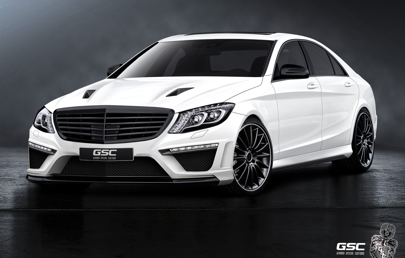 Photo wallpaper mercedes-benz, w222, gsc