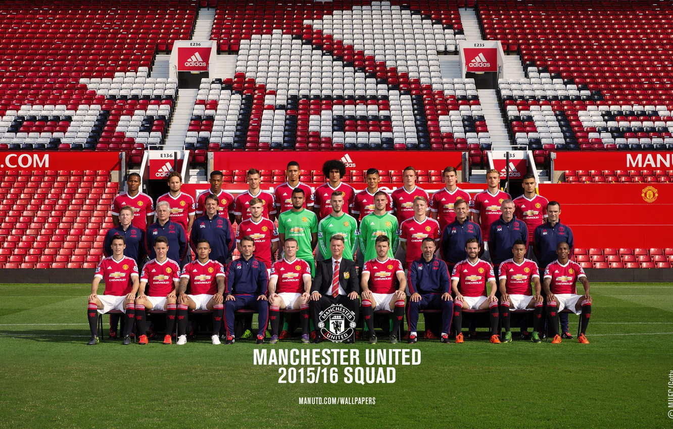 Wallpaper Composition Adidas Manchester United Manchester