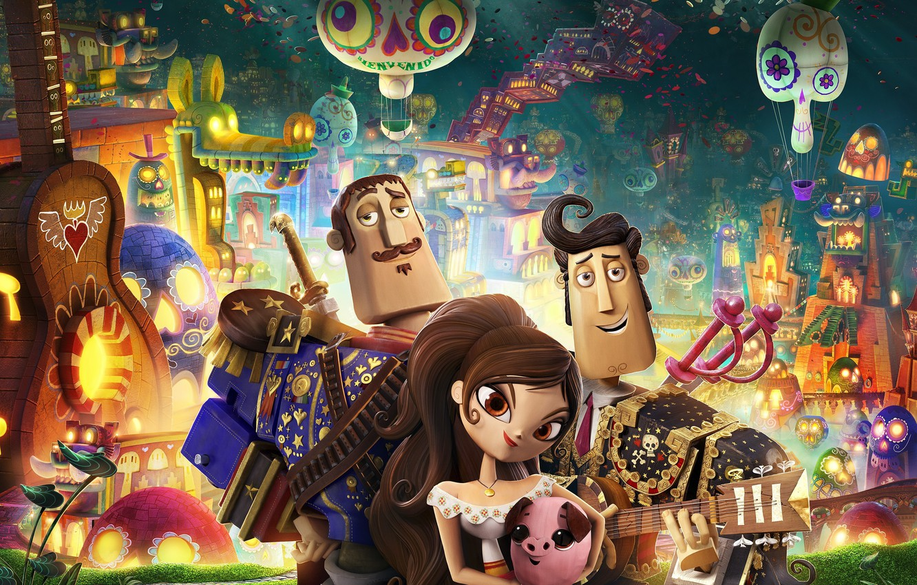 Wallpaper Cartoon Mexico Characters Maria The Book Of Life