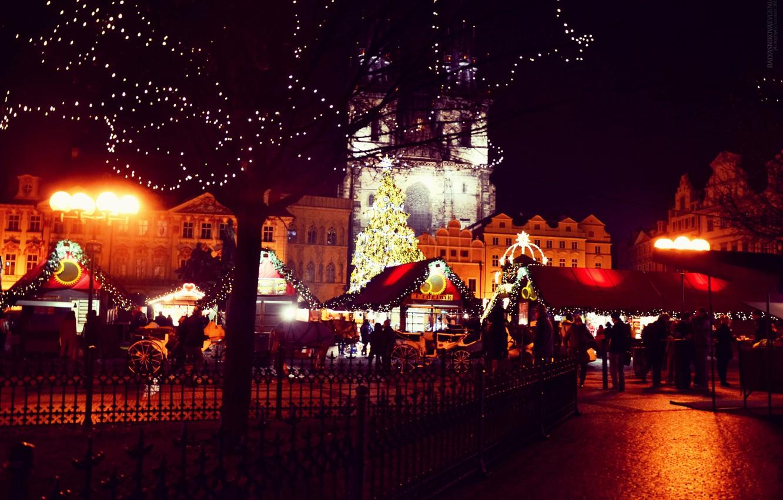 Photo wallpaper night, the city, view, Czech Republic, area, Prague, Praha, Czech Republic, Czech republic, Prag