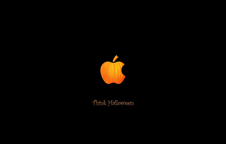 Photo wallpaper Apple, Halloween, Halloween