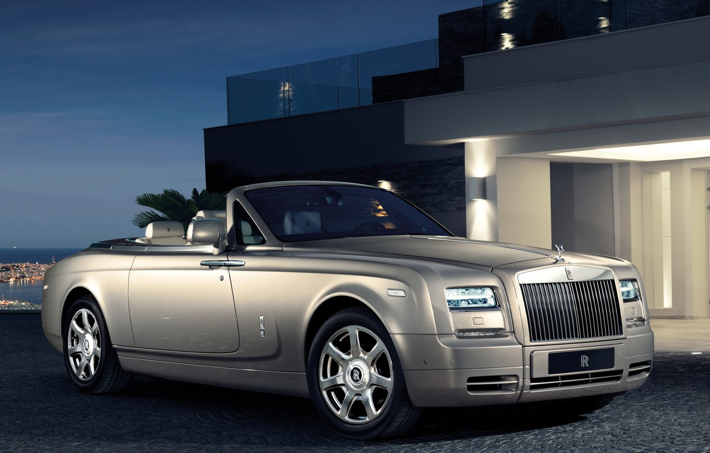Photo wallpaper Phantom, Rolls Royce, Drophead