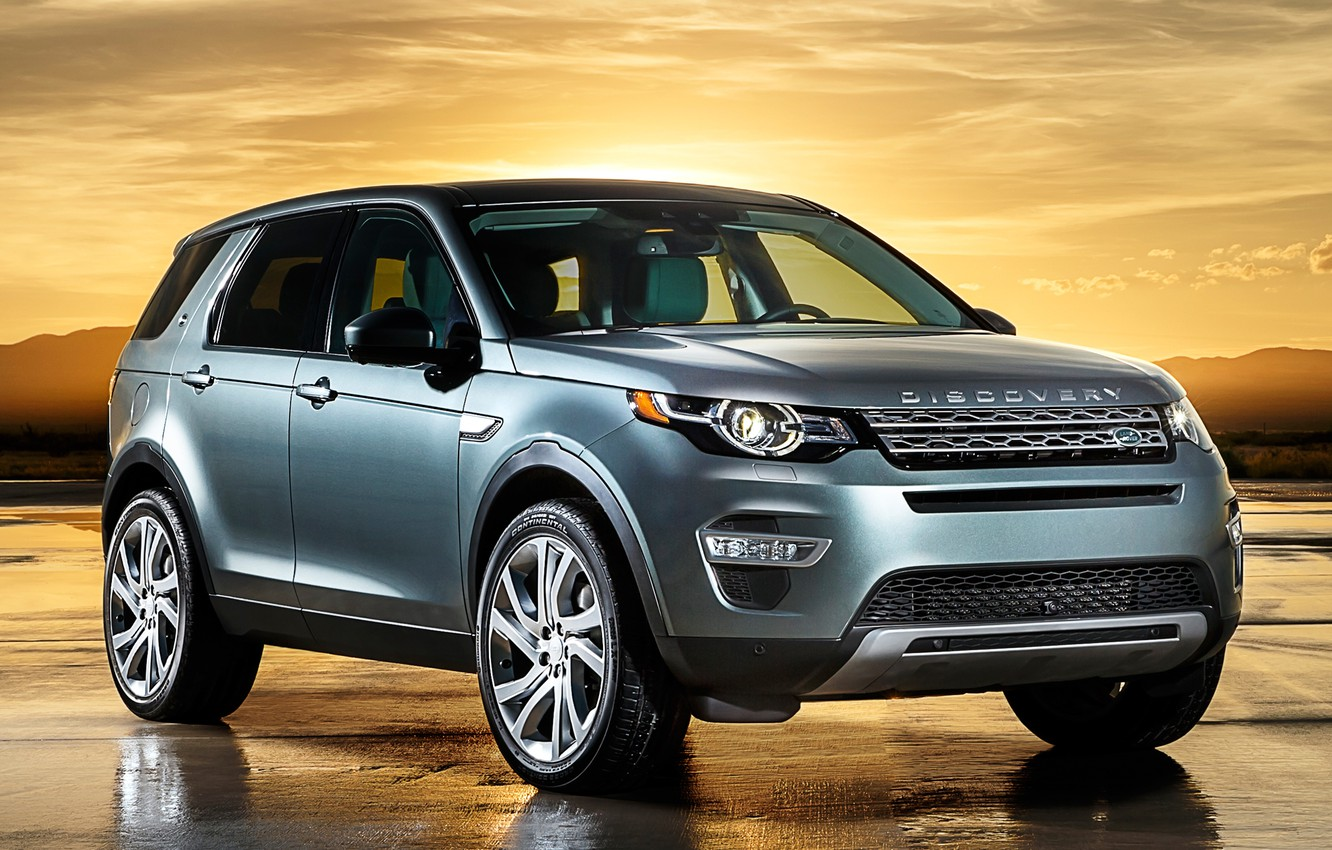 Photo wallpaper Discovery, Sport, Land, Rover