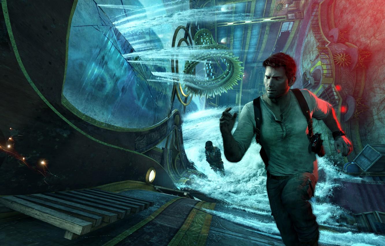 Wallpaper Game Naughty Dog Nathan Drake Uncharted 3