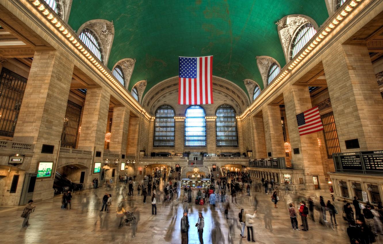Photo wallpaper USA, New York, Grand Central Terminal