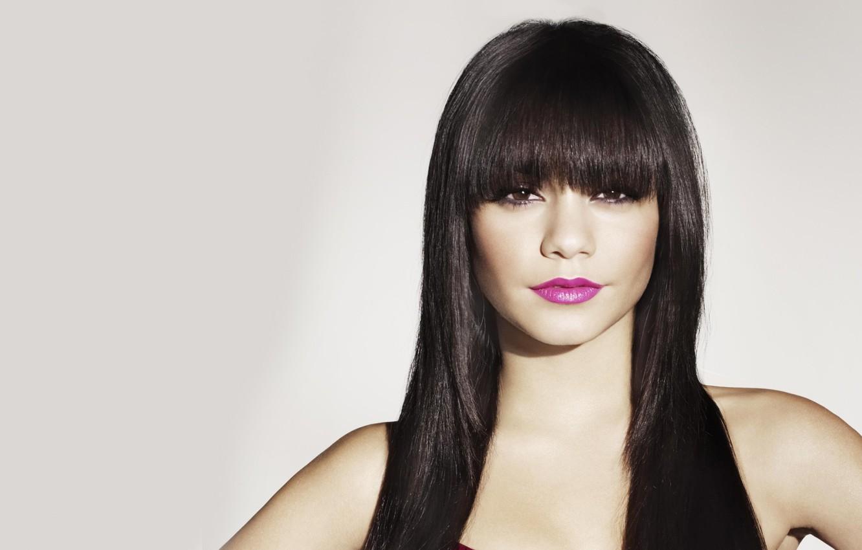 Photo wallpaper hair, lips, bangs, Vanessa Hudgens