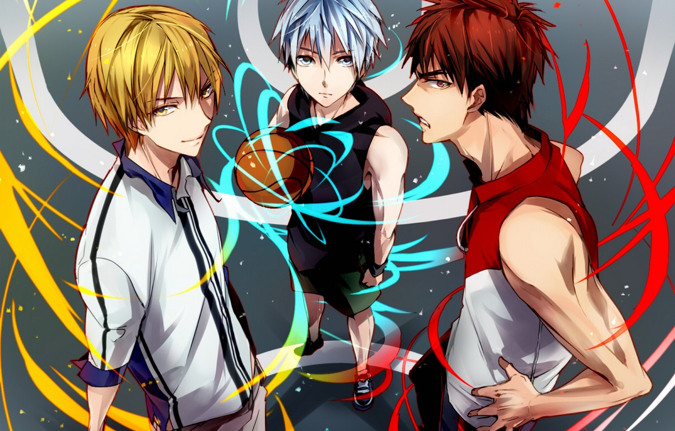 Photo Wallpaper The Ball Anime Art Guys Kuroko Tetsuya Kuroko From