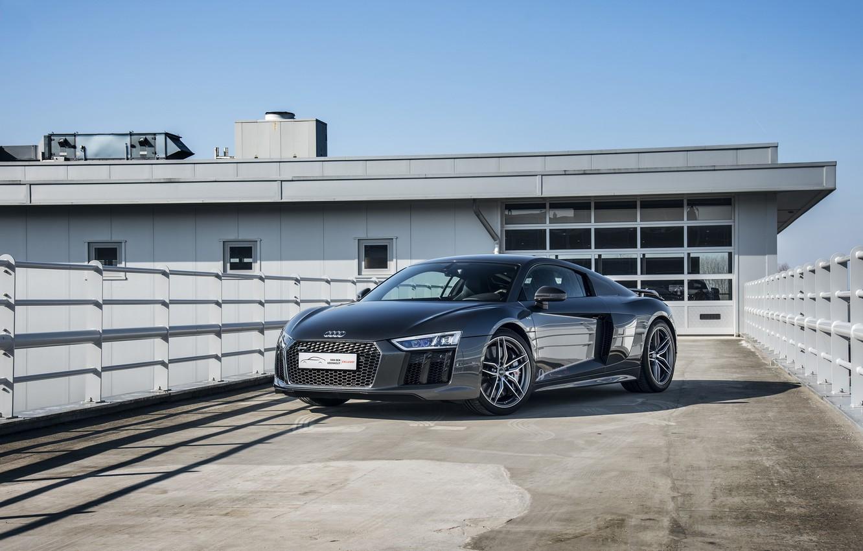 Photo wallpaper Audi, V10, More, R8