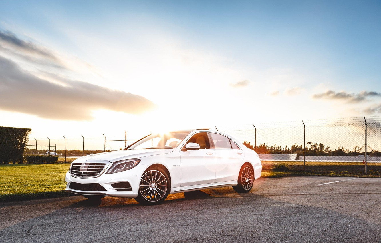Photo wallpaper Mercedes-Benz, AMG, tuning, S550