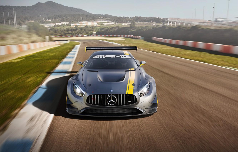 Photo wallpaper Mercedes, Mercedes, AMG, GT3, AMG, 2015