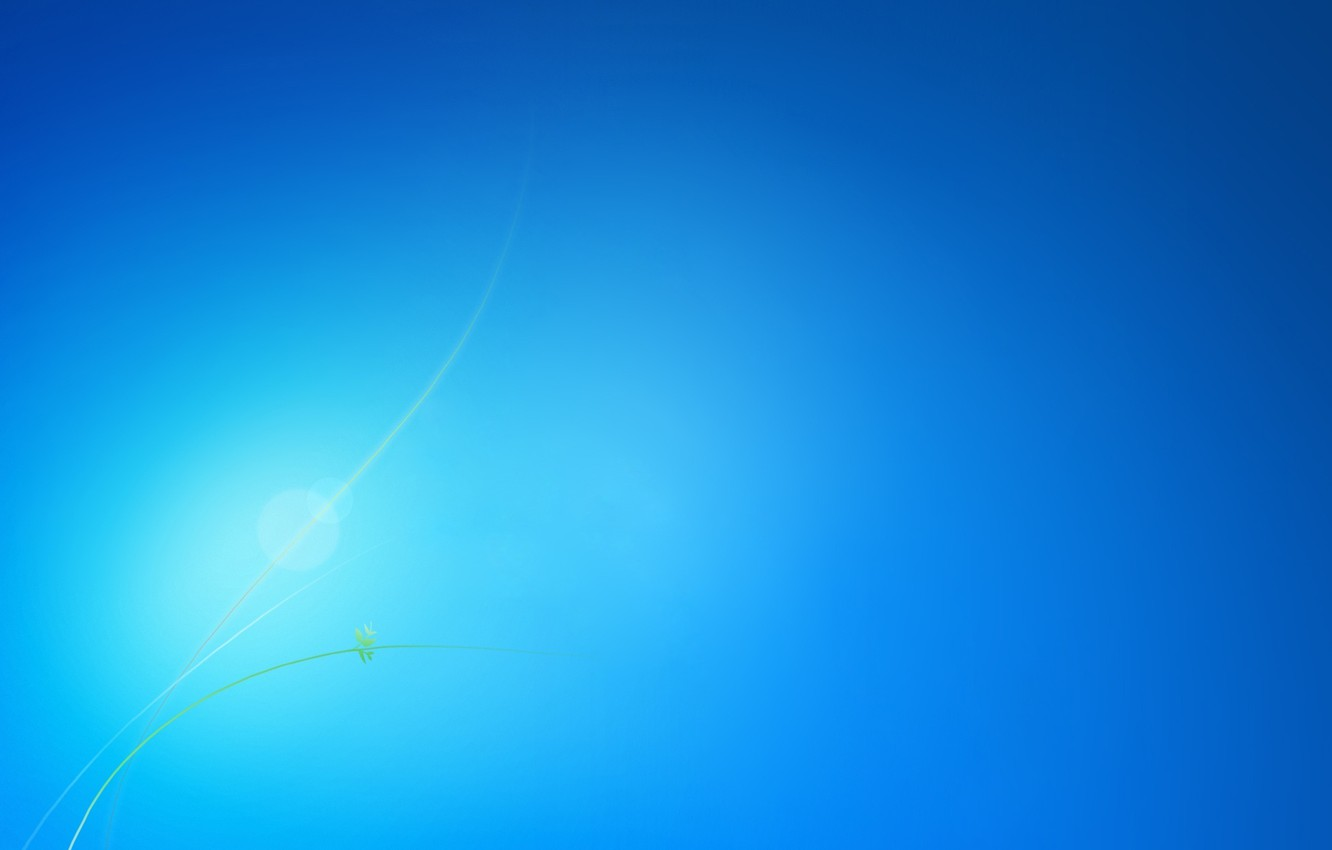 Photo wallpaper line, background, blue, gentle