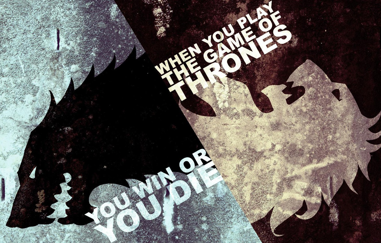 Photo wallpaper ice, white, flame, black, wolf, Leo, the series, Game of Thrones, Game of thrones
