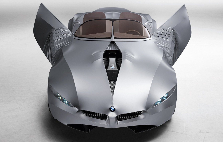 Photo wallpaper car, machine, bmw, BMW, concept, the concept, car, gina, new