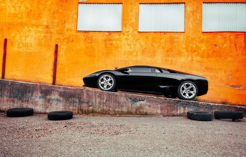 Photo wallpaper Lamborghini, supercar, murcielago
