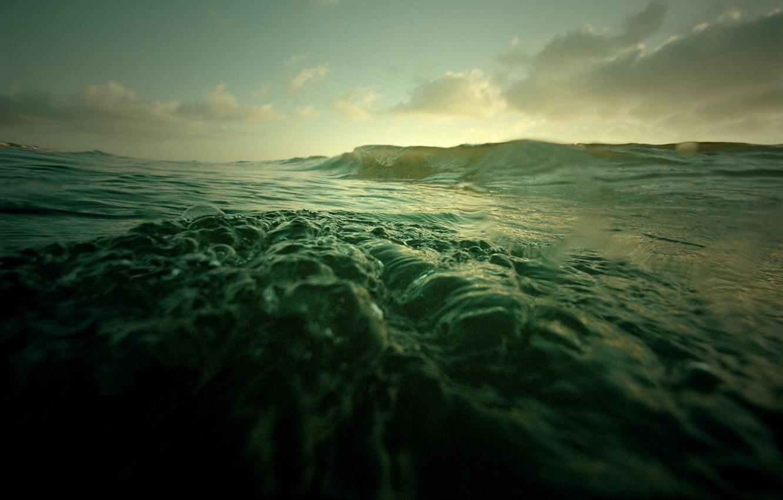 Photo wallpaper water, the ocean, wave