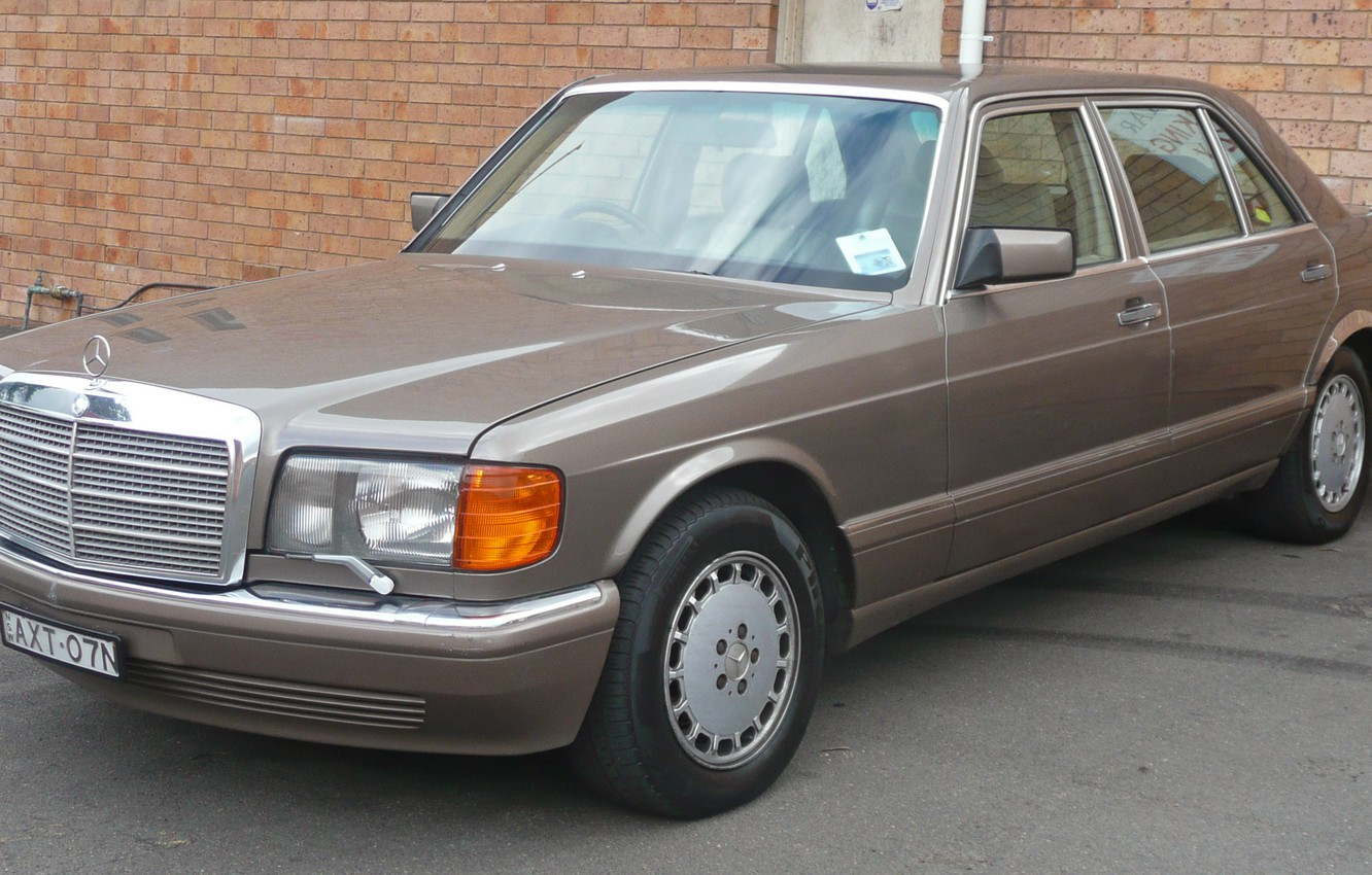 Photo wallpaper mercedes-benz, w126, sel